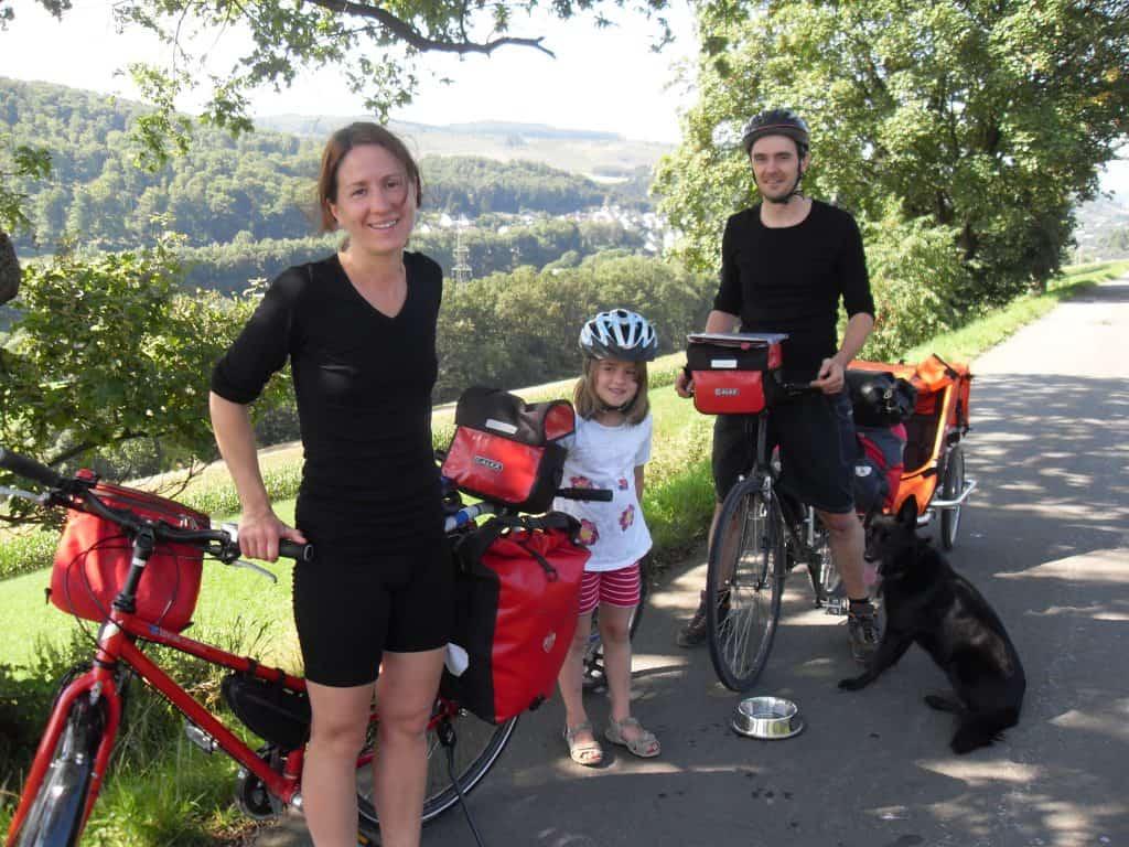 Alle Radreiseteilnehmer auf einem Bild