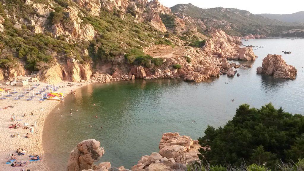 Sardinien-Costa Paradiso - Badebucht