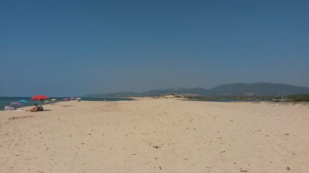 Sardinien - kilometerlanger Sandstrand zwischen Badesi und Valledoria