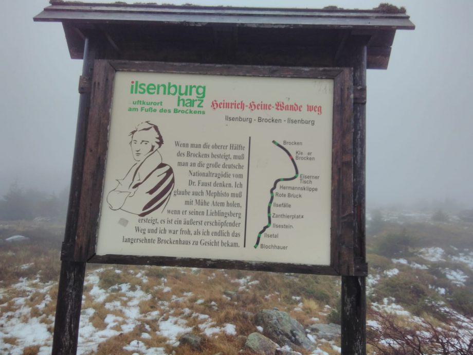 Ein etwas doch längerer Spaziergang zum Brocken-Gipfel