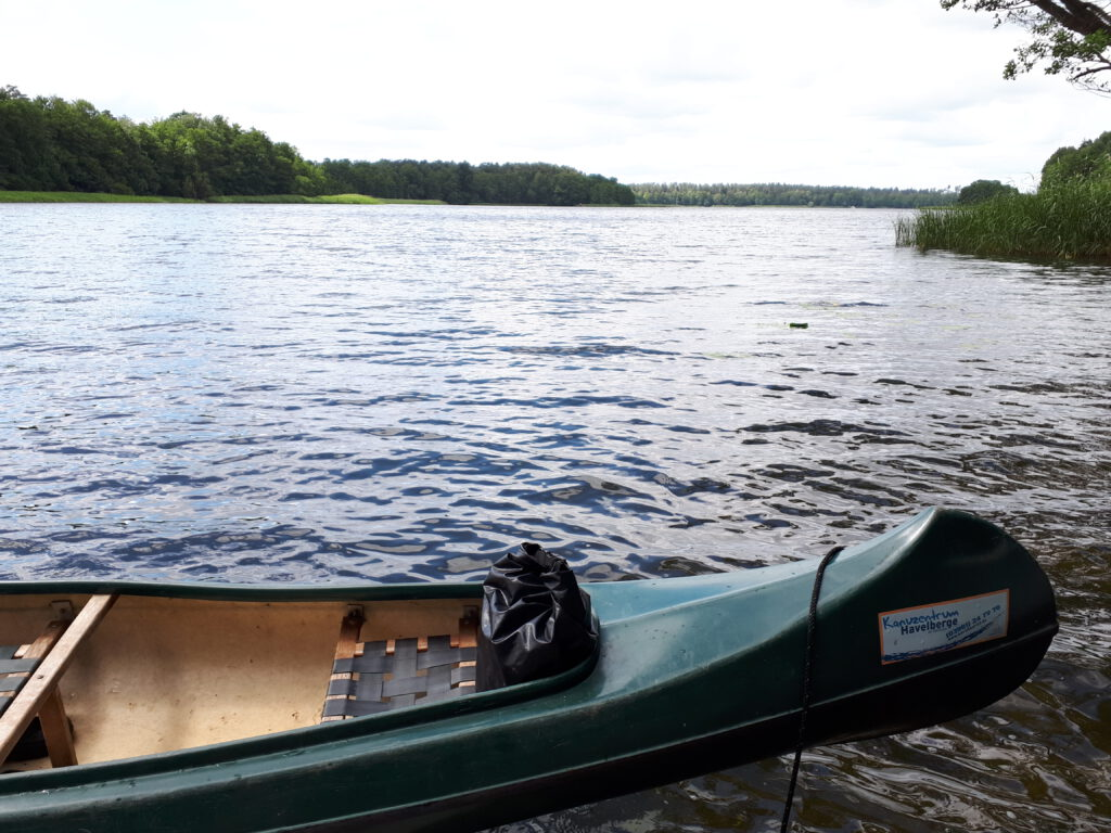 Kanu auf dem Drewensee